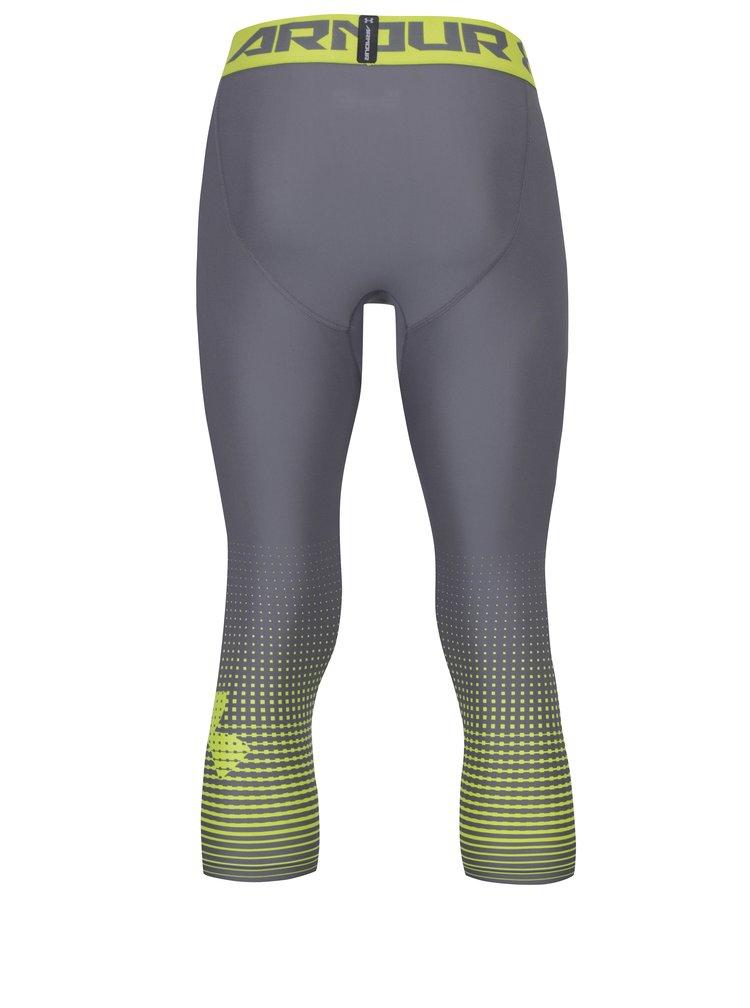 Colanti sport 3/4 gri pentru barbati - Under Armour Graphic