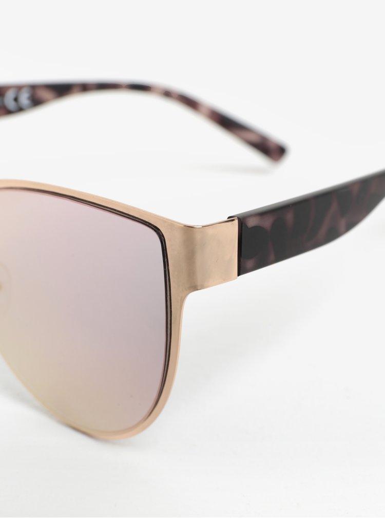 Sluneční brýle v růžovozlaté barvě MISSGUIDED