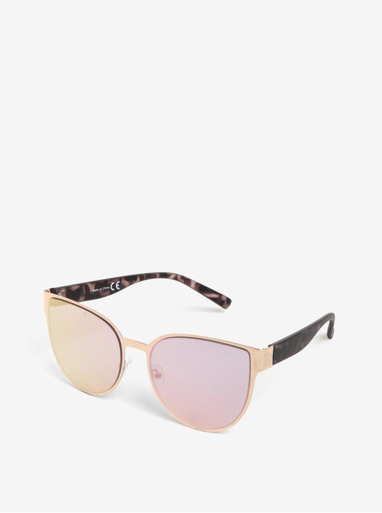 Ochelari de soare roz & maro - MISSGUIDED
