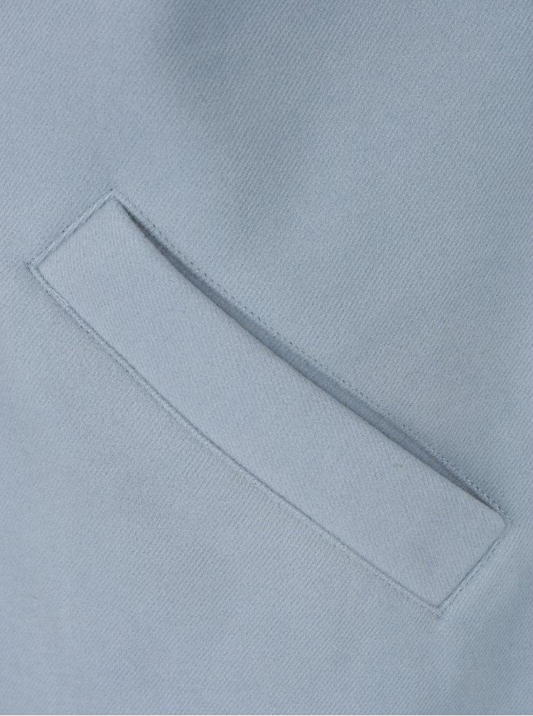 Světle modrý kabát s odznaky TALLY WEiJL