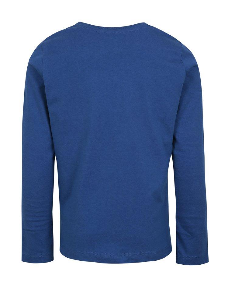 Modré klučičí tričko s potiskem name it Henrik