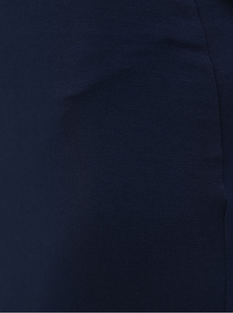 Tmavě modré šaty na tenká ramínka MISSGUIDED
