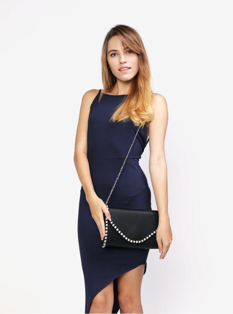 Černá kabelka s kamínky MISSGUIDED