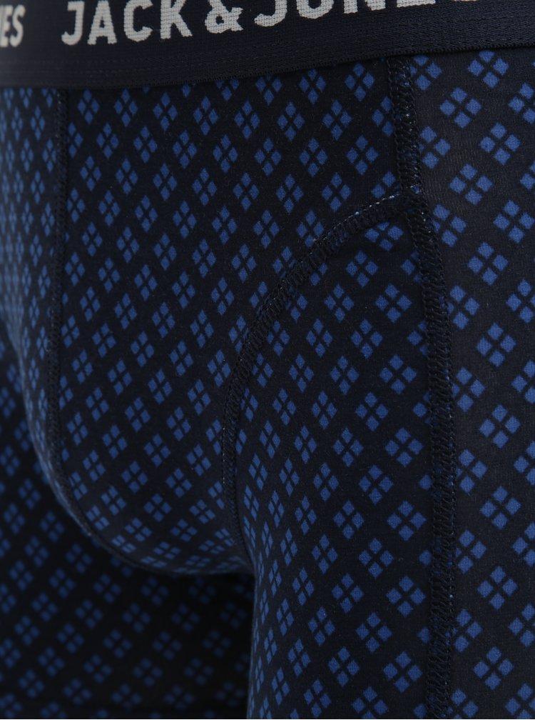 Boxeri bleumarin cu print - Jack & Jones Candy