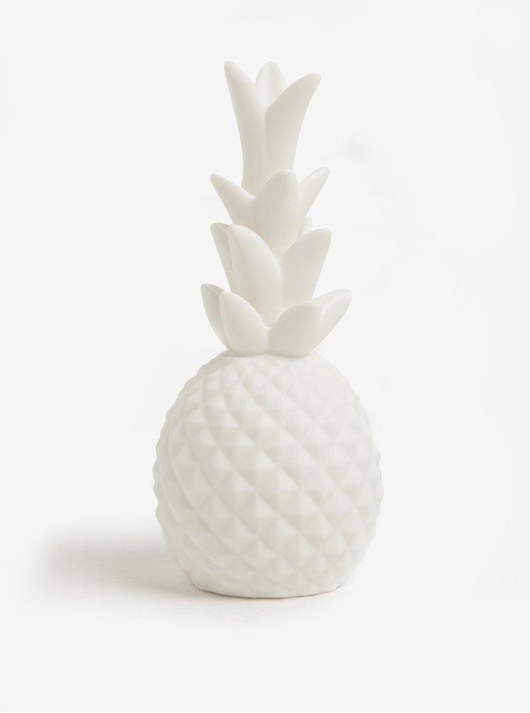 Lampa decorativa din portelan in forma de ananas - Kikkerland