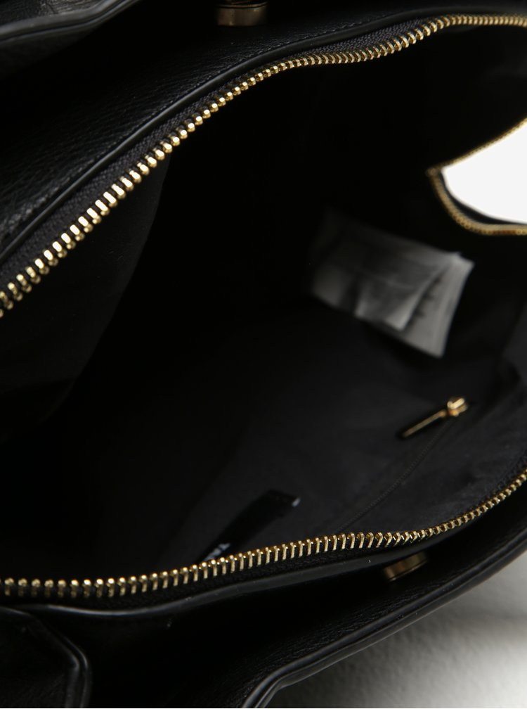 Geanta neagra din piele ecologica - TALLY WEiJL