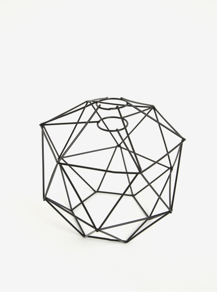 Abajur negru cu design minimalist - Kikkerland