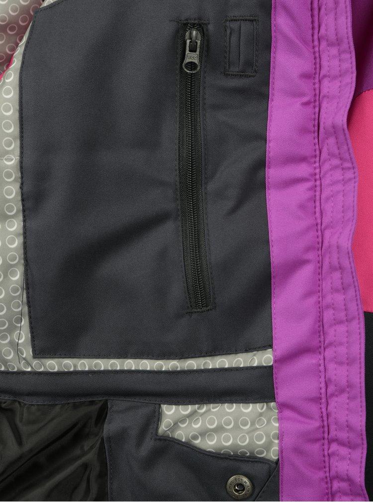 Růžovo-fialová holčičí zimní funkční bunda Lego Wear Jenny