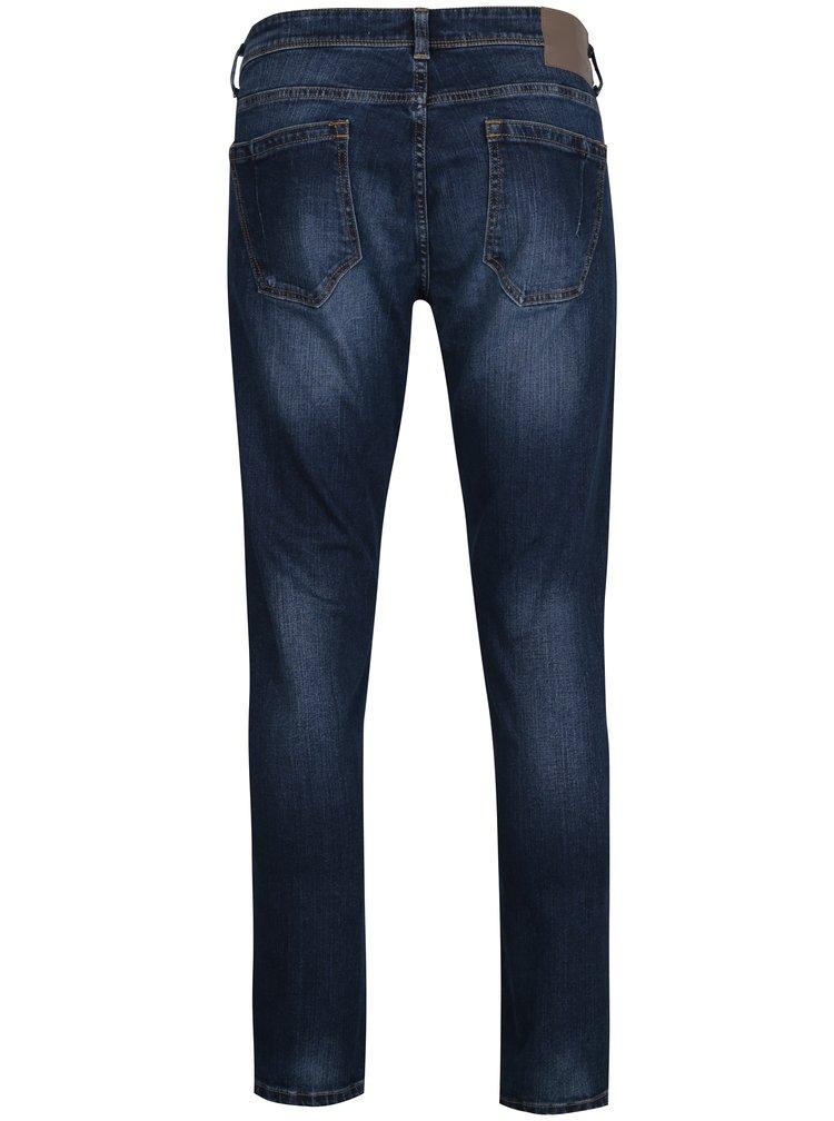 Blugi bleumarin slim fit - Burton Menswear London