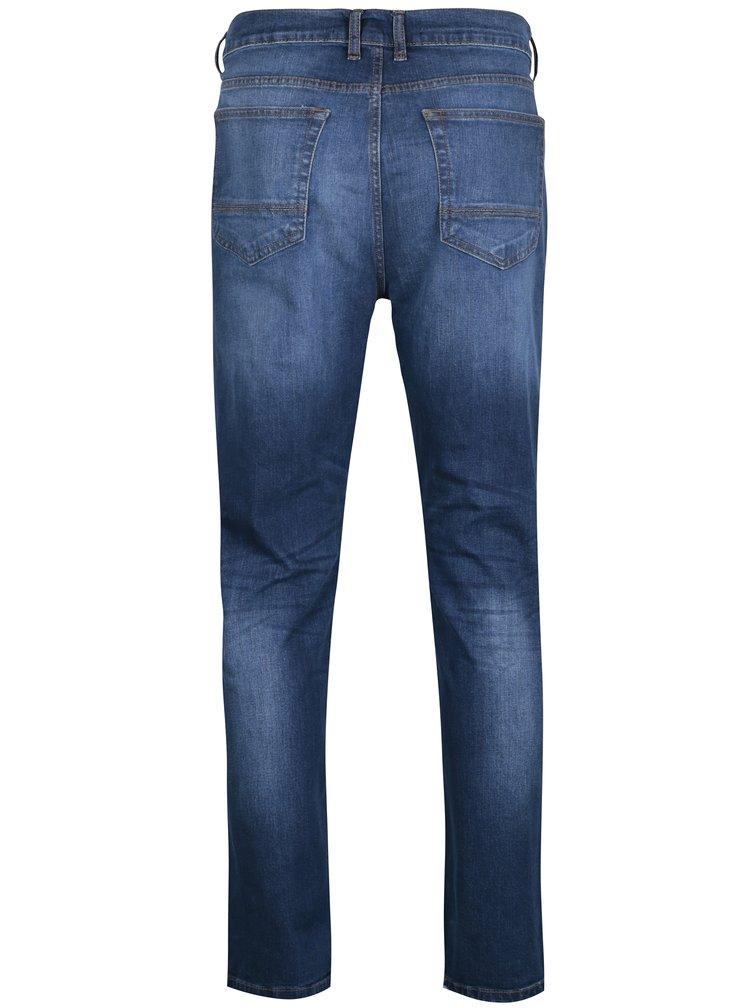 Světle modré straight džíny Burton Menswear London