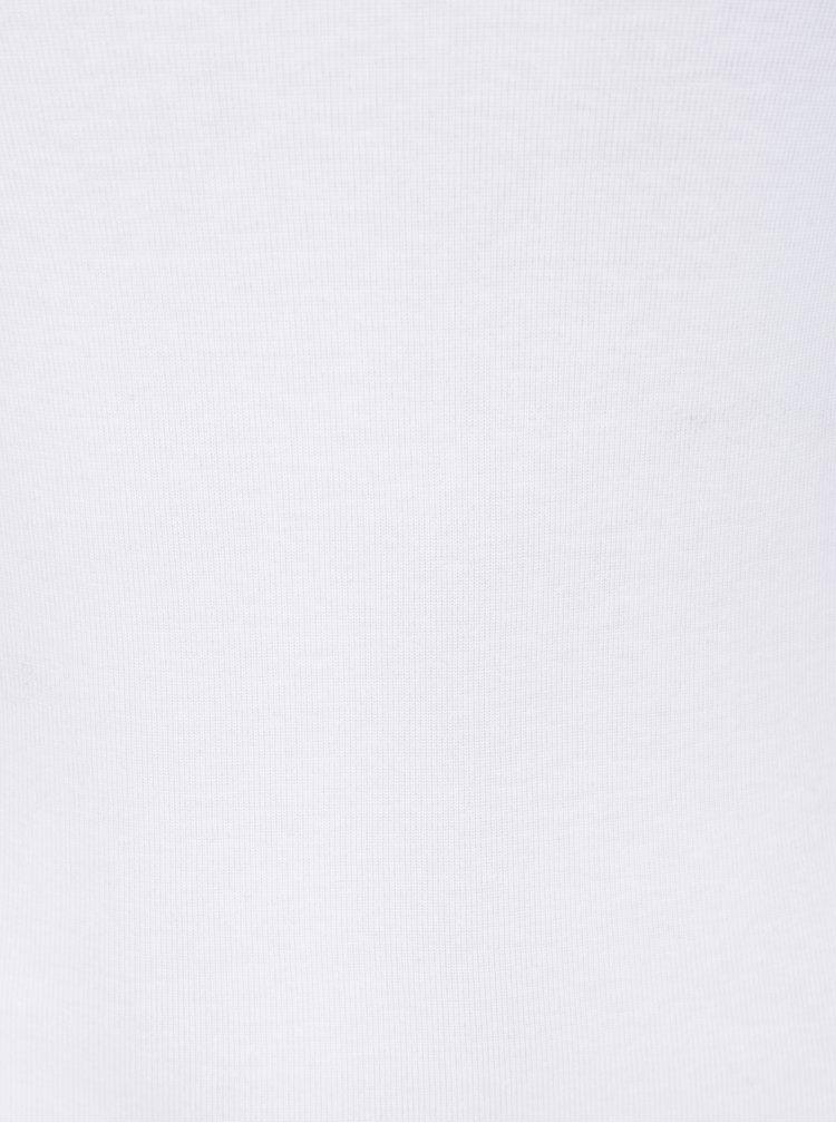 Bílé dlouhé basic tričko Dorothy Perkins Tall
