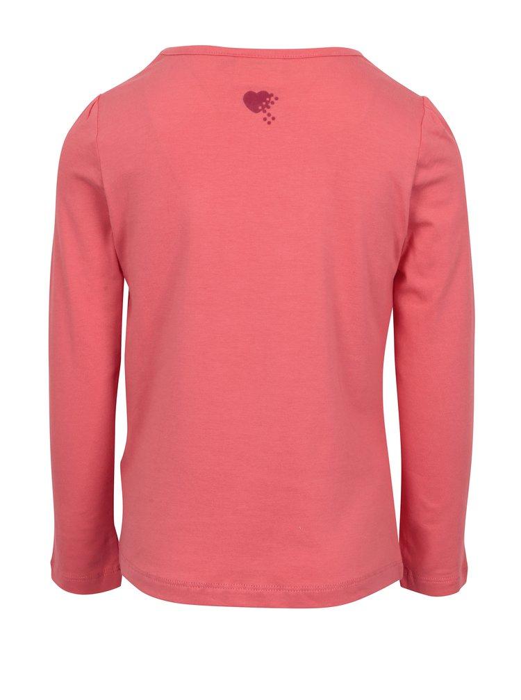 Růžové holčičí tričko s potiskem Friends Lego Wear Tallys