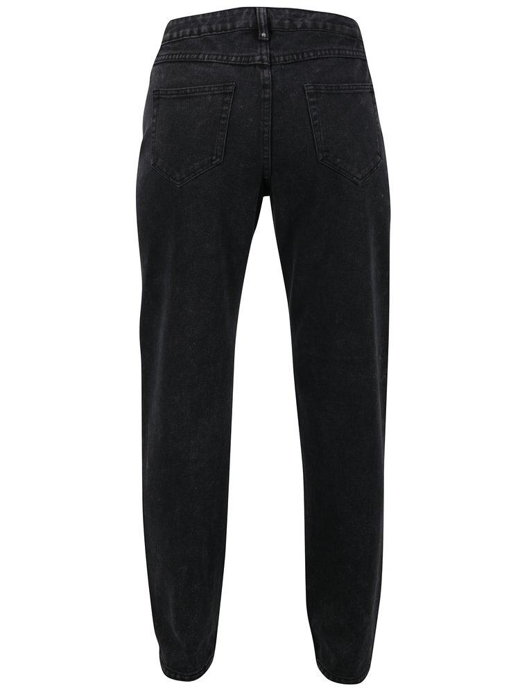 Černé mom džíny VILA Malla