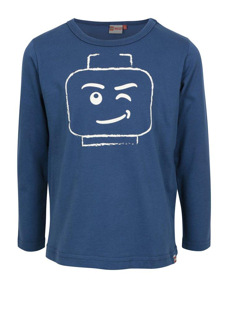 Modré klučičí tričko s potiskem Lego Wear Teo