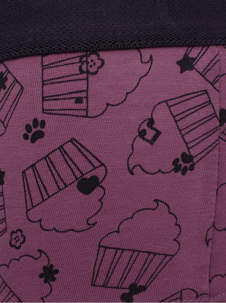 Světle růžový holčičí set tílka a kalhotek Lego Wear Nevada
