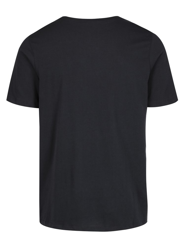 Tricou negru cu print pentru barbati Nike