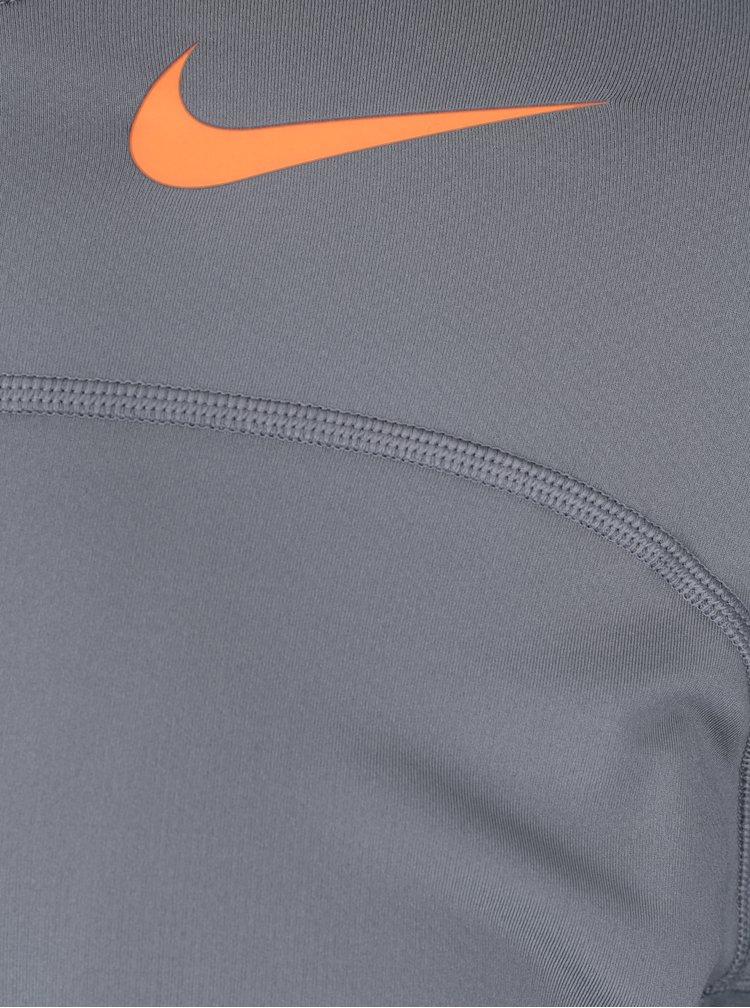Bluza gri sport barbateasca functionala Nike