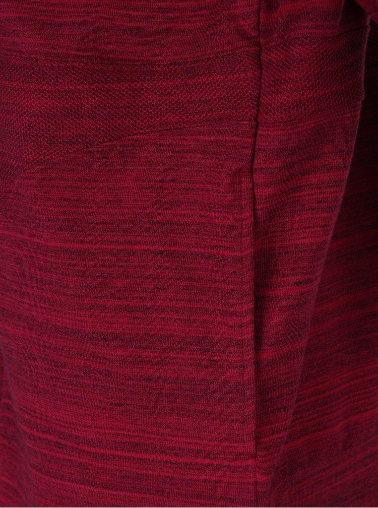 Hanorac roz inchis melanj cu fermoar pentru femei Nike Advance 15