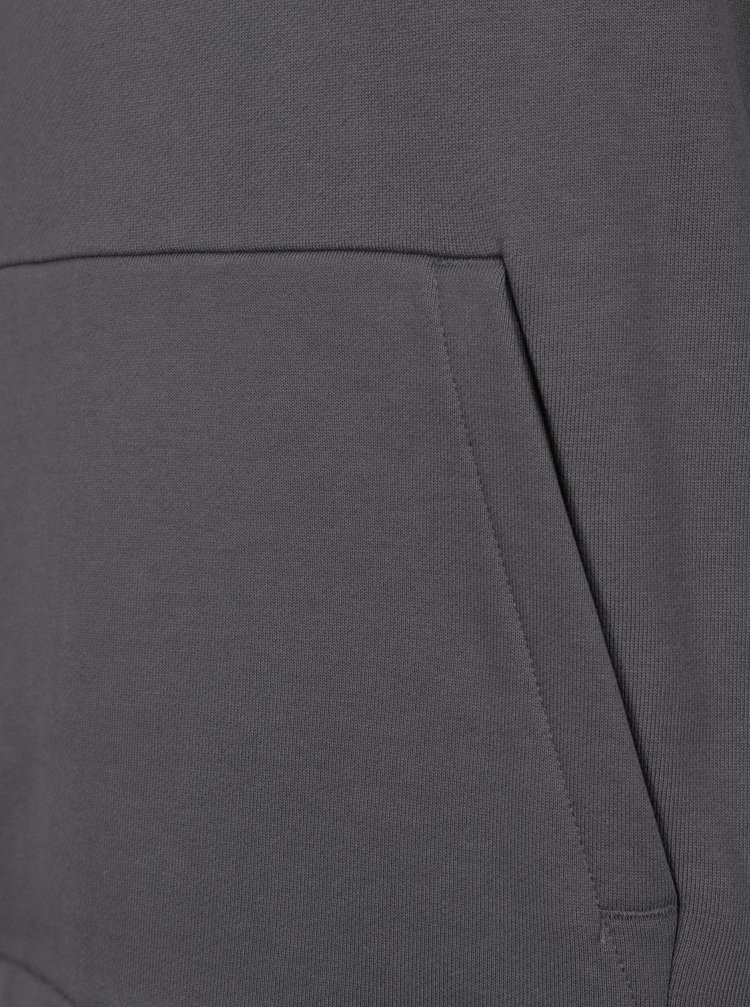 Hanorac gri cu gluga pentru barbati Nike Modern