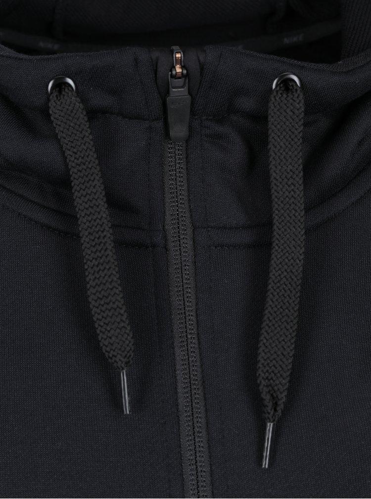 Hanoac negru cu fermoar pentru barbati Nike Hoodie