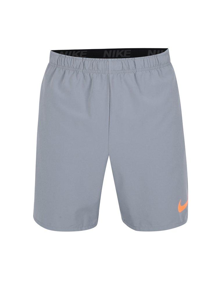 Pantaloni scurti gri cu talie elastica pentru barbati Nike