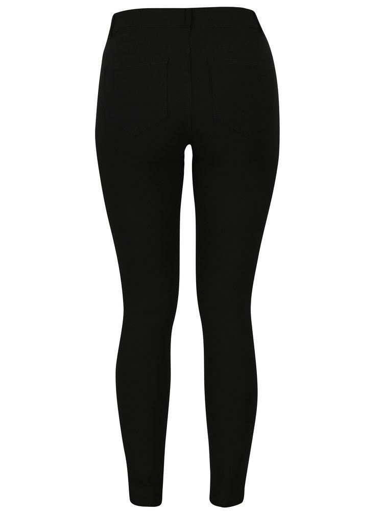 Pantaloni skinny negri Jacqueline de Yong Skinny