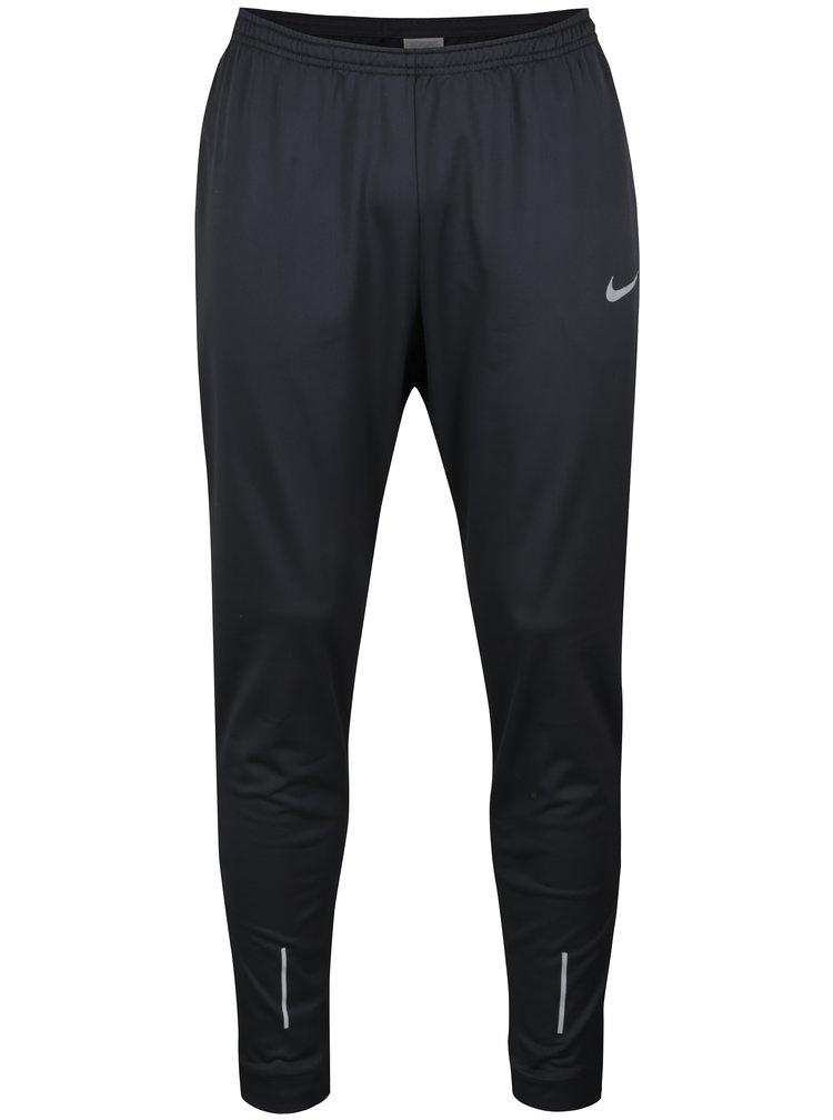 Pantaloni sport negri cu buzunare pentru barbati - Nike Therma Essential