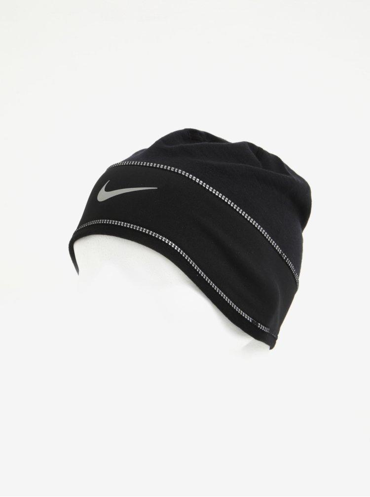 Černá dámská sportovní čepice s příměsí vlny Nike Beanie