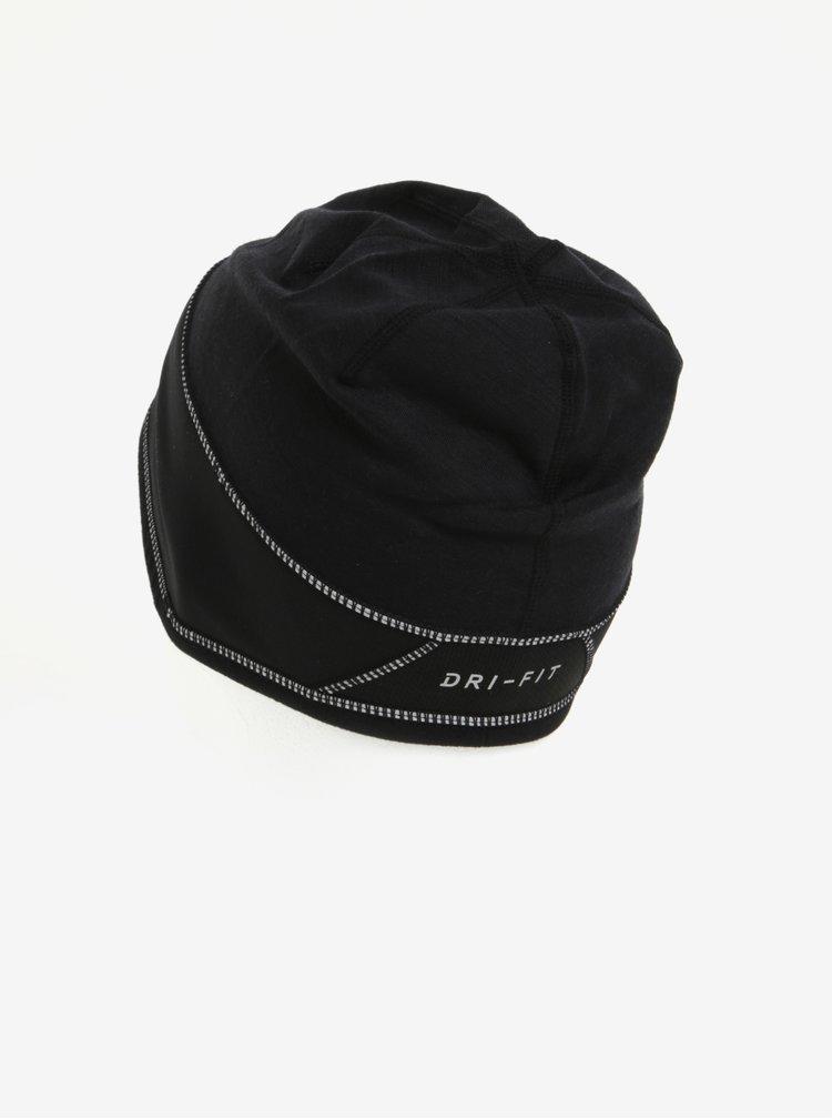 Caciula sport neagra pentru femei Nike Beanie