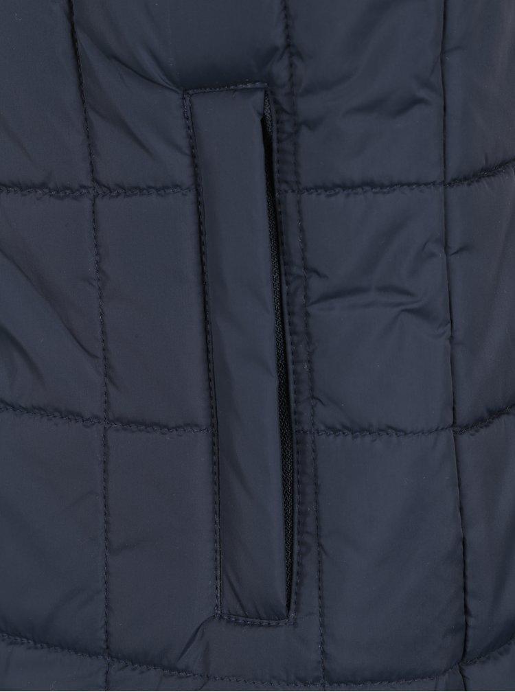Tmavě modrá prošívaná vesta Seven Seas Second