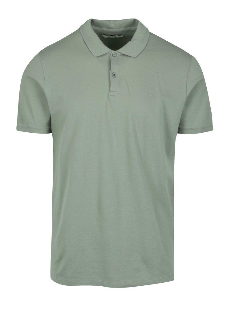 Tricou polo verde deschis pentru barbati -  Jack & Jones Premium Belfast