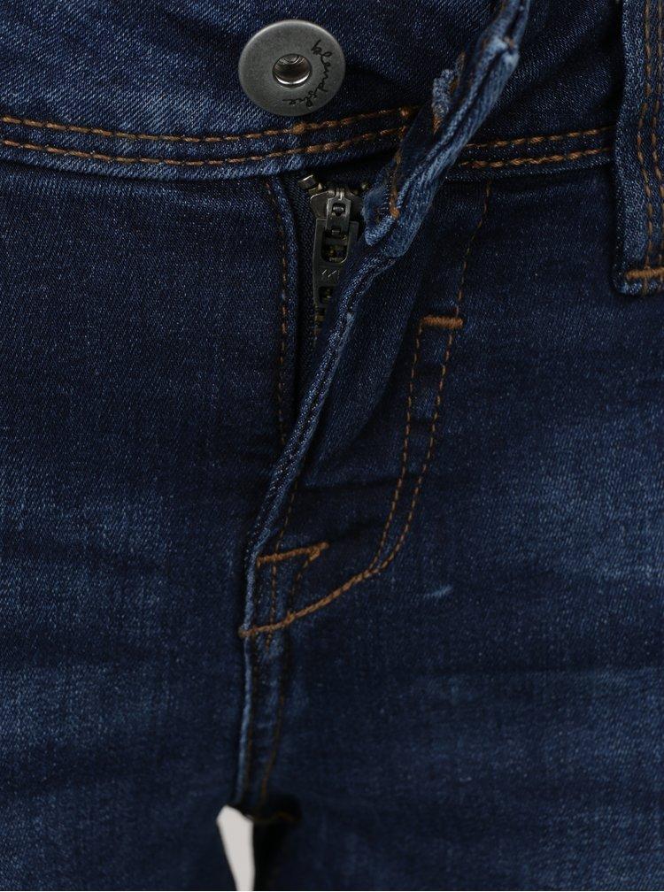 Tmavě modré dámské skinny džíny Blendshe Nova Janett