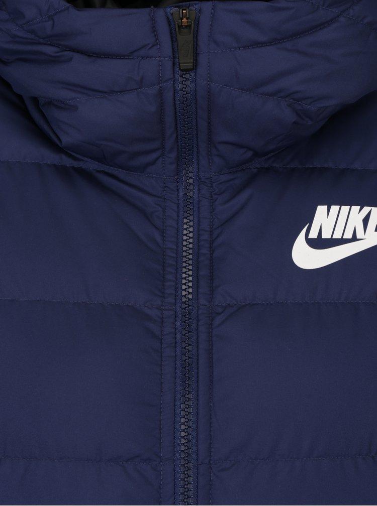 Geaca albastra de iarna cu umplutura din puf de rata pentru femei - Nike Sportswear Fill