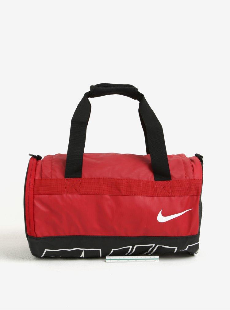 Černo-červená sportovní taška Nike Alpha Adapt