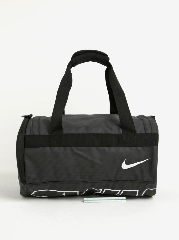 Černá sportovní taška s potiskem Nike Alpha Adapt 19 l