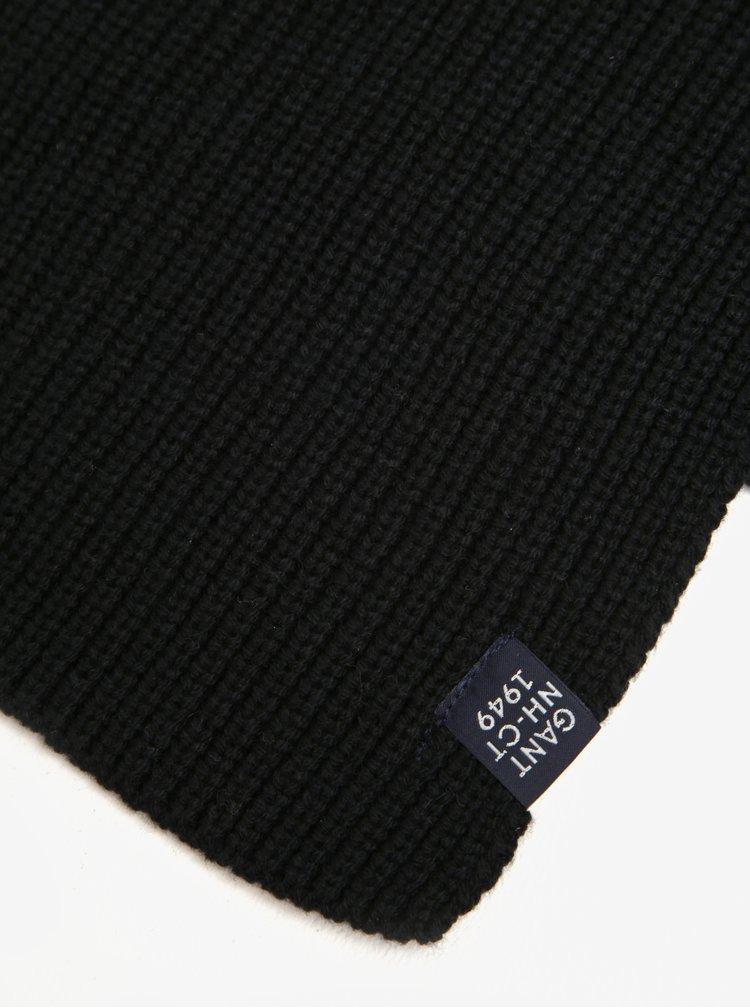 Černá pánská šála GANT