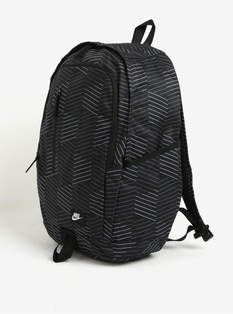 Rucsac unisex negru cu print Nike All Access Soleday Backpack 25 l