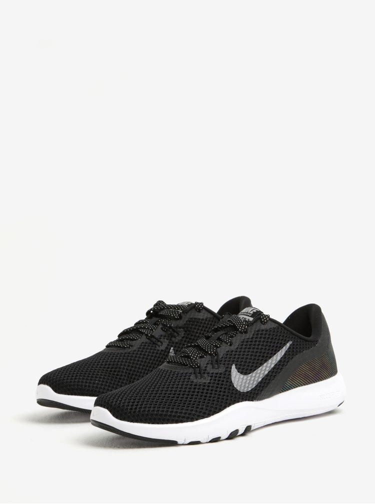 Černé dámské tenisky Nike Flex Trainer 7