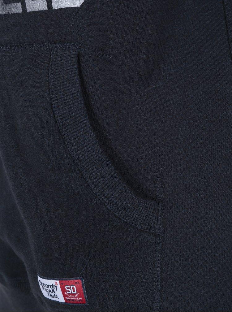 Hanorac bleumarin cu gluga si print pentru barbati - Superdry Trackster