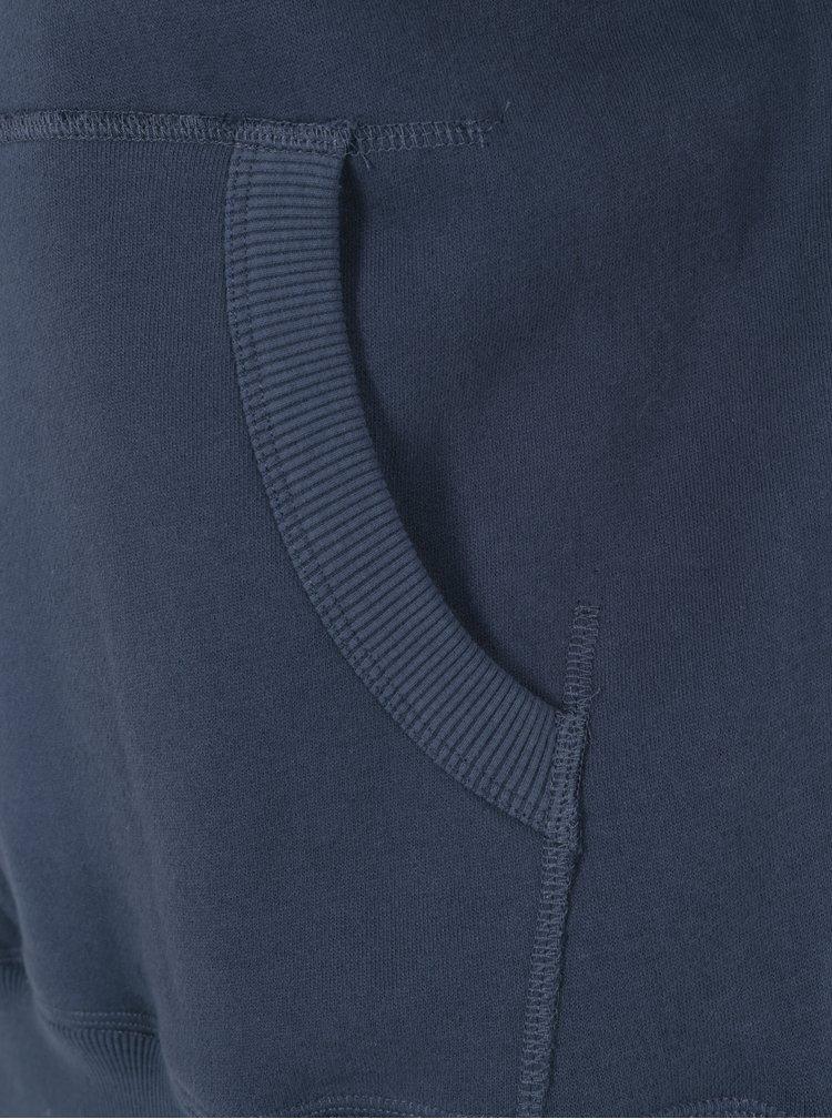 Hanorac albastru cu gluga si print pentru barbati - Superdry Vintage