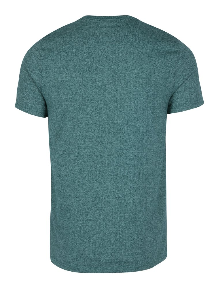 Tricou verde cu print pentru barbati - Superdry Stacker