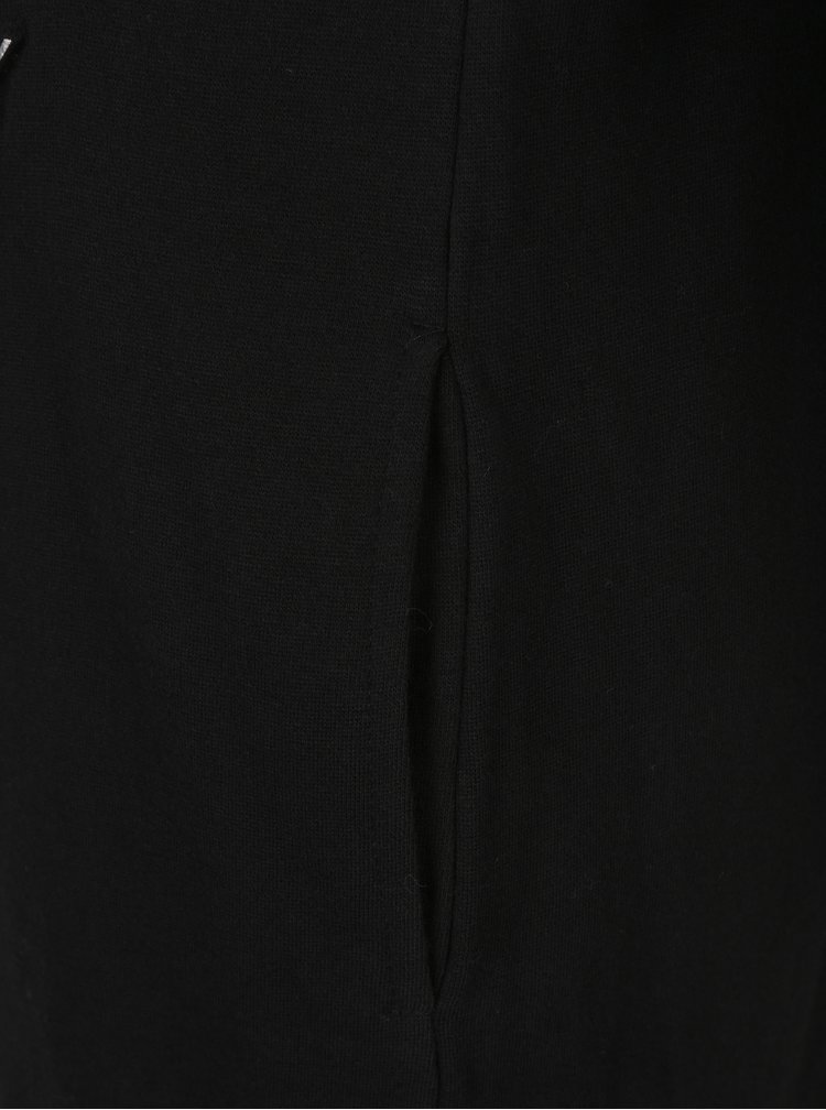 Rochie - bluza neagra cu decupaje pe umeri- Superdry Sport