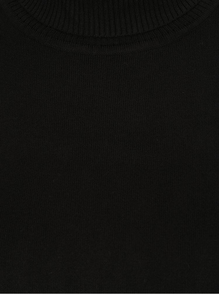 Helanca neagra cu butoni decorativi M&Co
