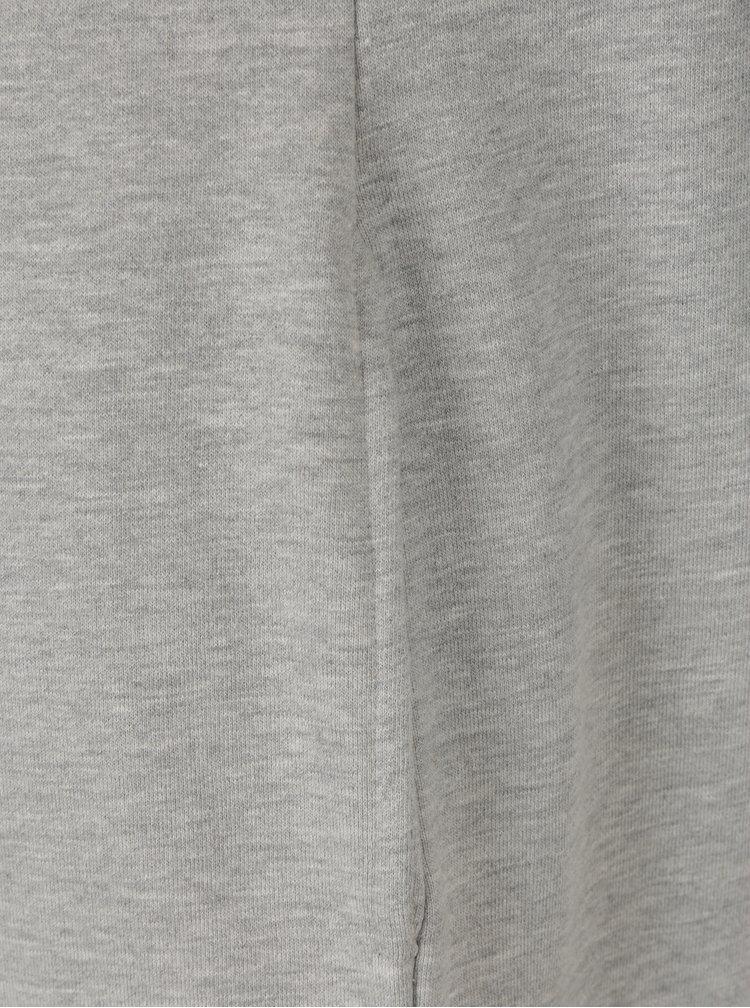 Rochie tip bluza gri cu buzunare - Superdry Graphic