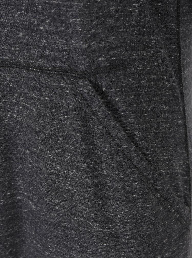 Tmavě šedé žíhané mikinové minišaty Nike WMNS Vintage