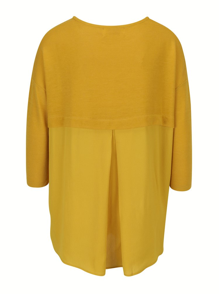Žluté oversize tričko Louche London