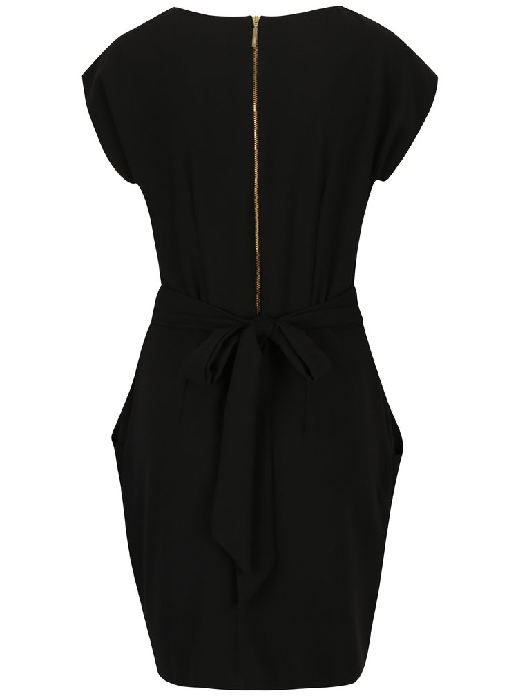 Černé šaty s kapsami Closet