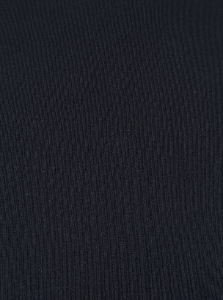 Bluza cu guler inalt bleumarin Lindbergh