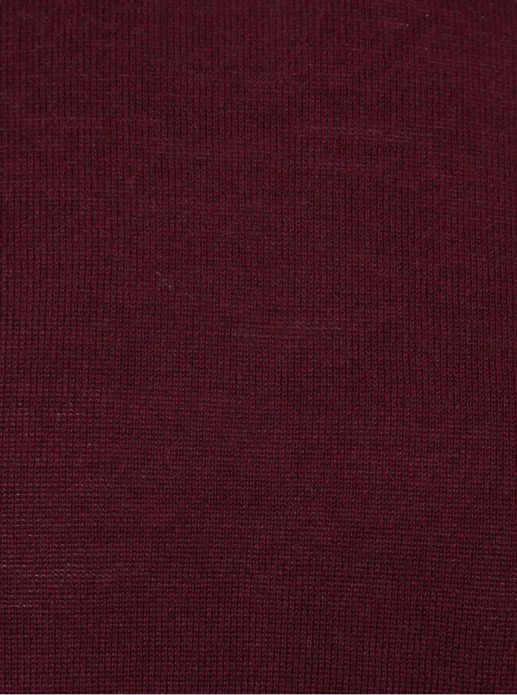 Helanca bordo melanj din amestec de lana merino  Lindbergh