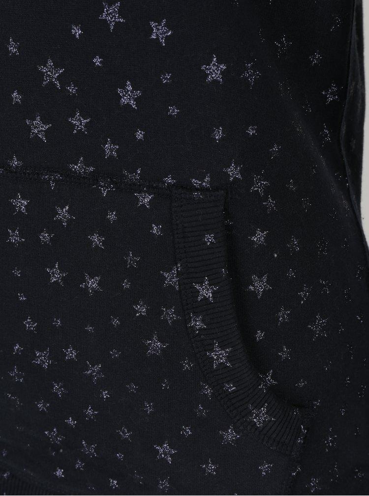 Hanorac bleumarin cu print pentru femei - Superdry Premium